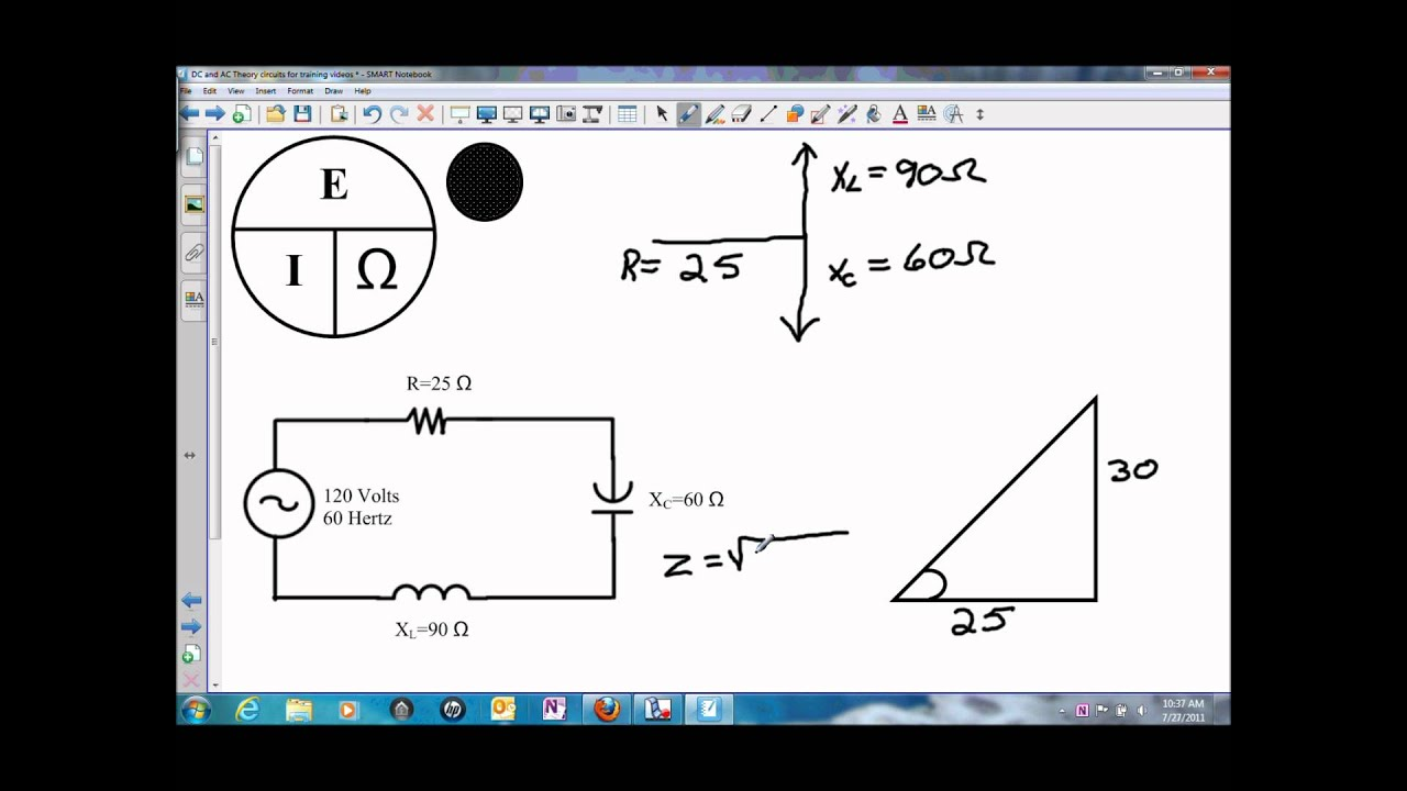Impedance In A Parallel Resonance Circuit