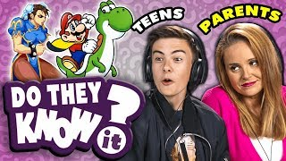 Do Teens Know Their Parent's Favorite Game?   React: Do They Know It?