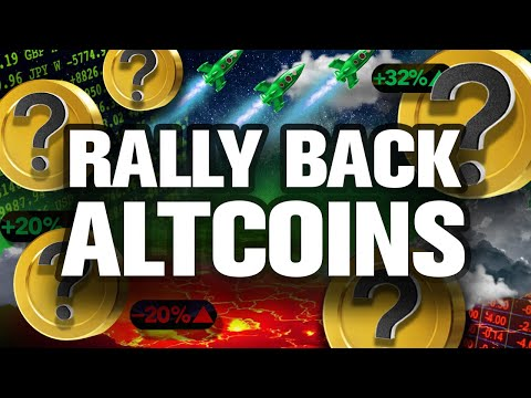 """The """"Rally Back"""" ALTCOINs REVEALED! My Top HODLs"""