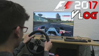 Time Trial Competition - F1 2017 Testing at Codemasters