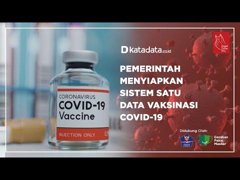Pemerintah Menyiapkan Sistem Satu Data Vaksinasi Covid-19 | Katadata Indonesia