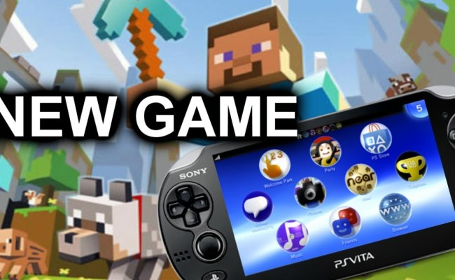 New Ps Vita Game Coming Out Maybe Minecraft Youtube