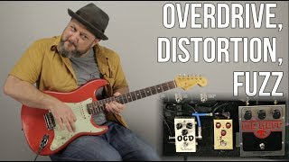 Overdrive, Distortion, Fuzz: What's the Difference? Marty Music Gear Thursday