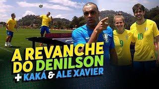 KAKÁ E ALE XAVIER (DESIMPEDIDOS) + DENÍLSON PISTOLA NA REVANCHE DO FUTMESA - Parte 2 | Zico 10