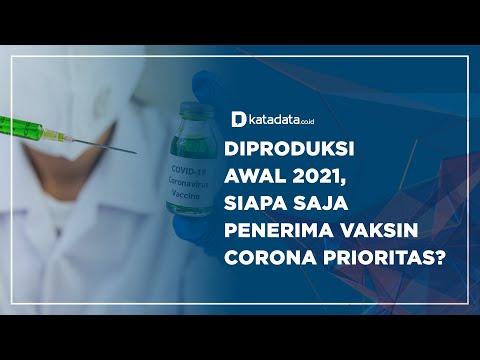 Diproduksi Awal 2021, Siapa Saja Penerima Vaksin Corona Prioritas?   Katadata Indonesia