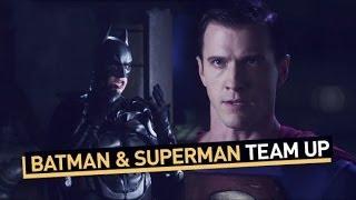 Batman and Superman Team Up
