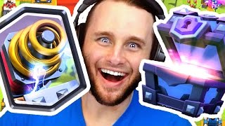 Super Magical Chests Opening   Clash Royale Legendaries (Sparky)