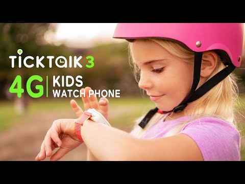 TickTalk 3: High Tech Kids Wearable Phone Takes Parental Control to