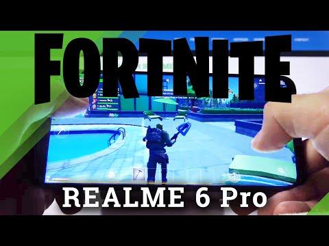 Fortnite Gameplay on REALME 6 Pro – FPS Checkup