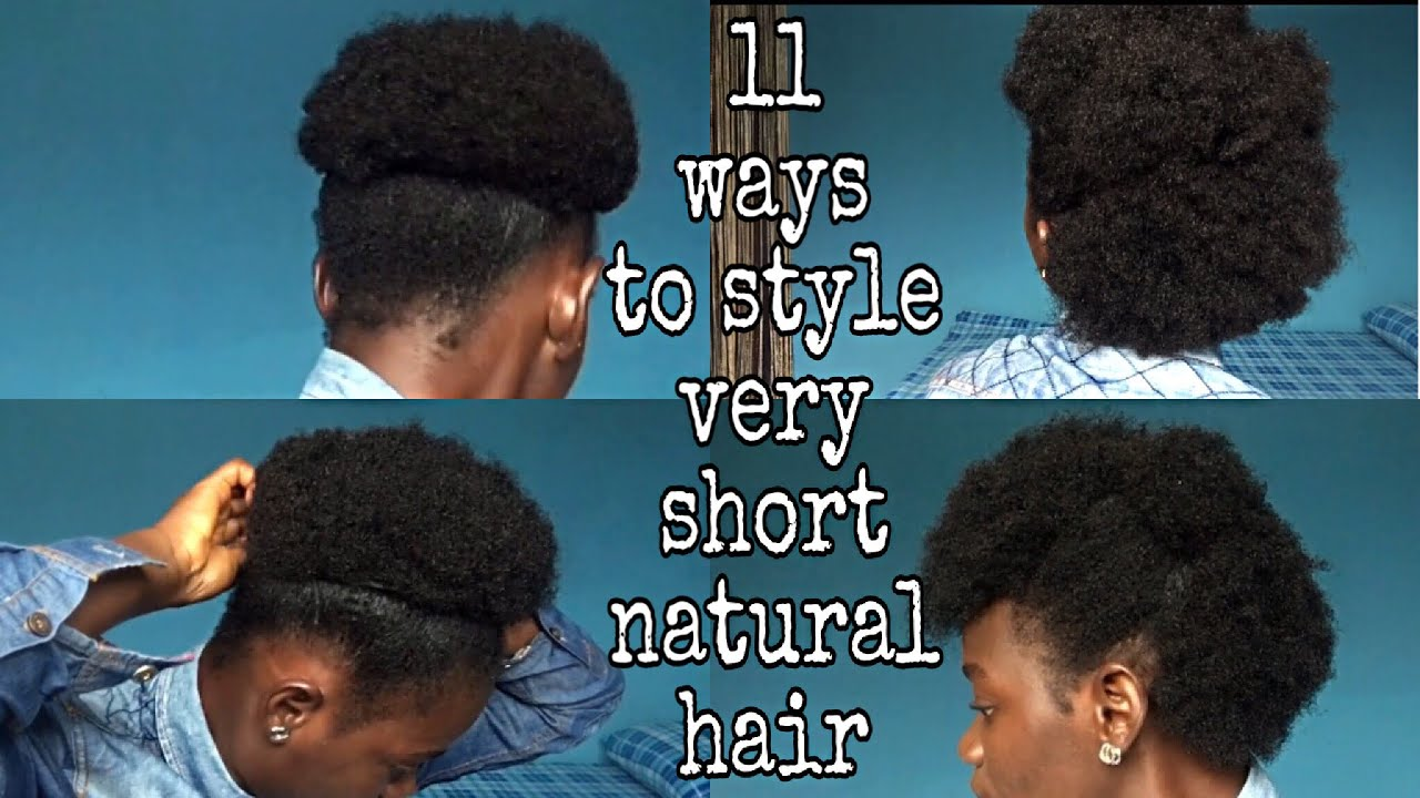 How To Pack Short Natural Hair