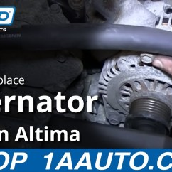 2001 Nissan Frontier Alternator Wiring Diagram 1939 Ford 9n Install Toyskids Co How To Replace 2 5l 2002 06 Murano Parts