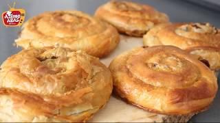 Oklava kullanmadan Kolay El Açası Börek/El açması kıymalı börek/Azime Aras