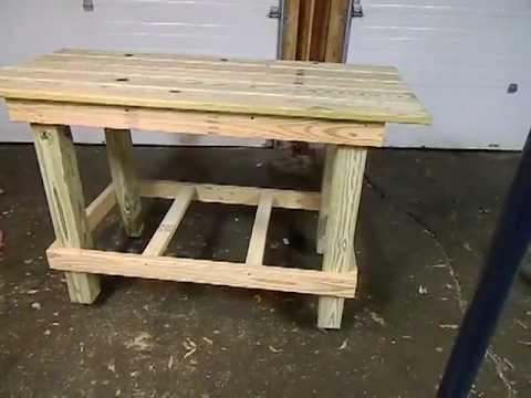Homemade Workbench Plans
