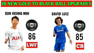 PES 2020 18 NEW Gold To Black Ball Upgrades Part 1