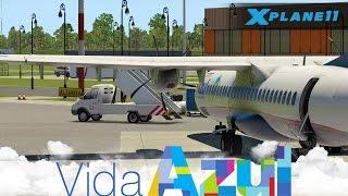 *X-Plane 11* AZU4438 - São Luís (SBSL), Teresina (SBTE) ATR 72-500