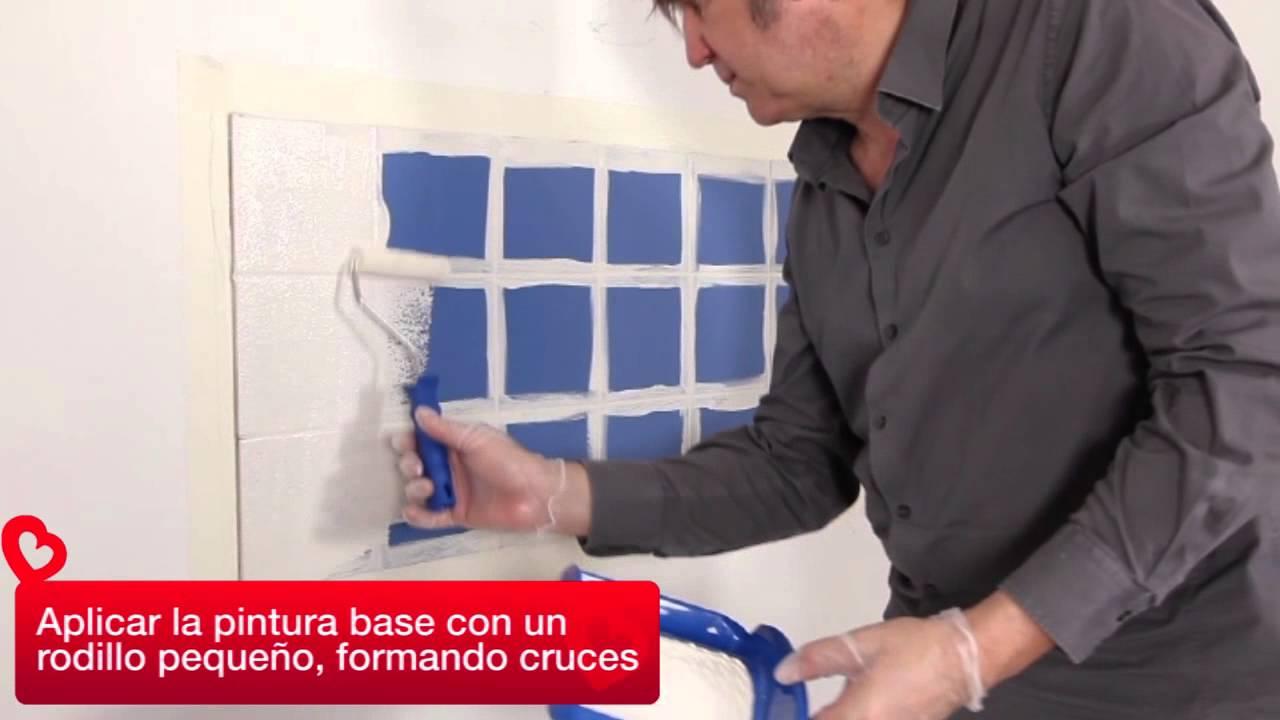 Pintar azulejos  YouTube