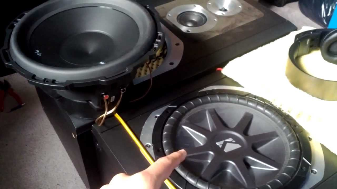 Single Coil Subwoofer Wiring