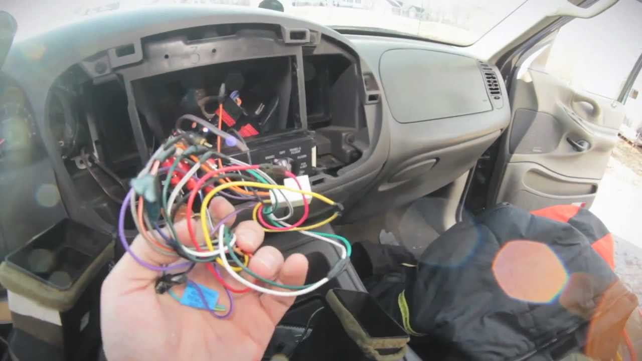 2003 Explorer Wiring Diagram 1999 Ford Expedtion Sound System Tear Out Pt 1 Tearing My