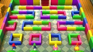 Mario Party Series - Minigames - Mario vs Luigi vs Peach vs Daisy (1999 - 2018)