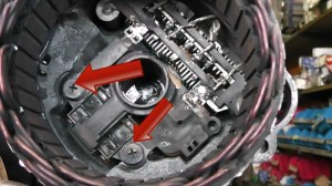 Mitsubishi alternator repair  brush change Fits Pajero