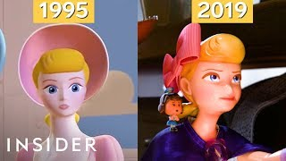 How Pixar's Animation Has Evolved Over 24 Years, From 'Toy Story' To 'Toy Story 4' | Movies Insider