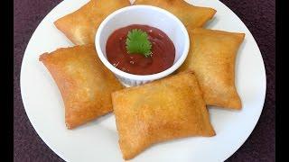 Cheesy Maggi Noodles Bread Pockets   Bread Pockets Recipe   Kids Snack - By Sritha's Kitchen