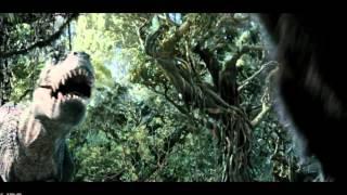 KingKong Fight With The Tyrannosaurus Rex 1080p ᴴᴰ