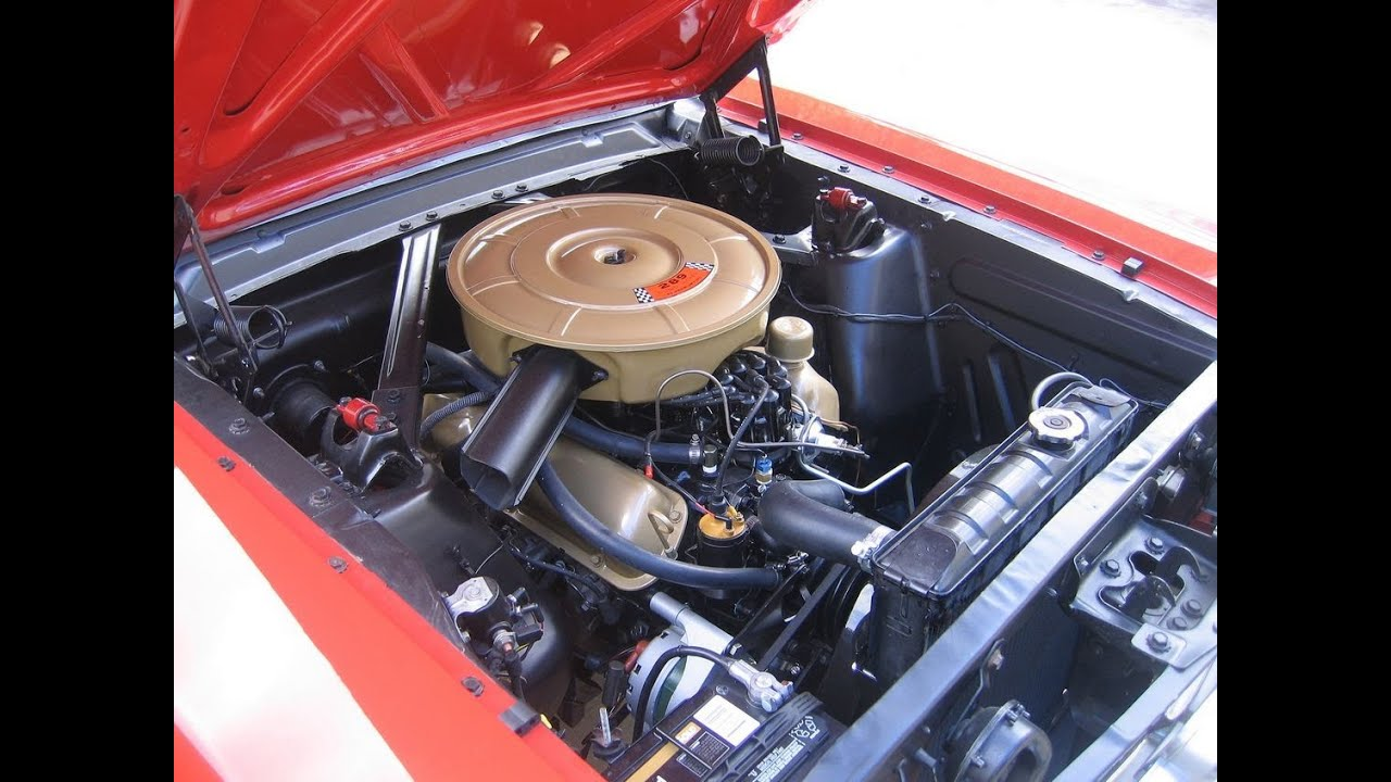 1968 Barracuda Wiring Diagram 1965 Mustang Engine Compartment Detail Part 2 Youtube