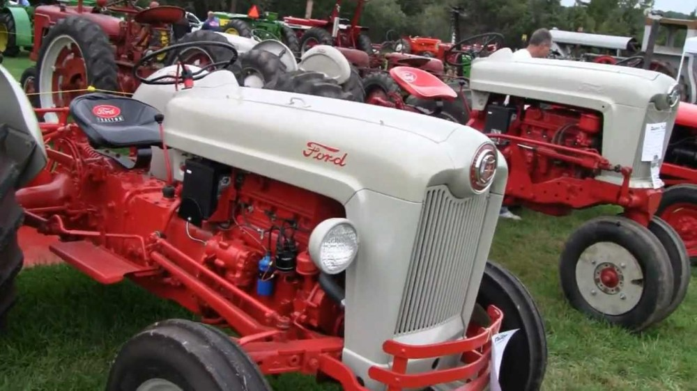 medium resolution of ford 600 tractor wiring diagram 1953 ford jubilee tractors youtube