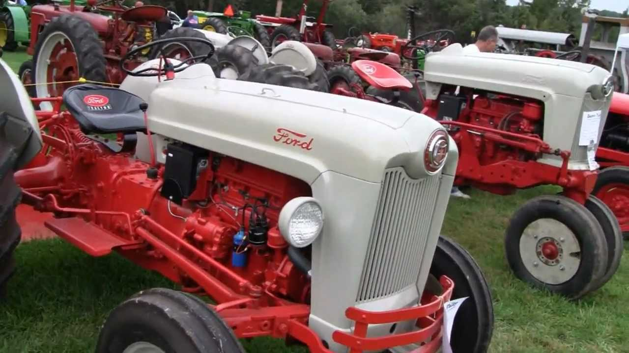 hight resolution of ford 600 tractor wiring diagram 1953 ford jubilee tractors youtube