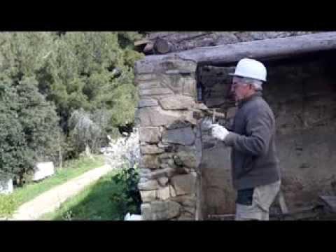Cmo restaurar pared y pilar de piedra y pedazos de obra