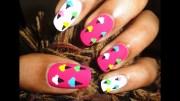 super easy & cute ice cream nail