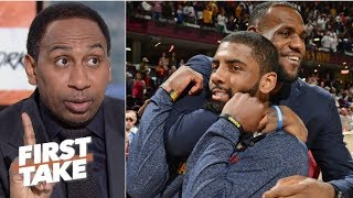 Stephen A.'s sources say 'no way in hell' Kyrie Irving is going to the Lakers | First Take