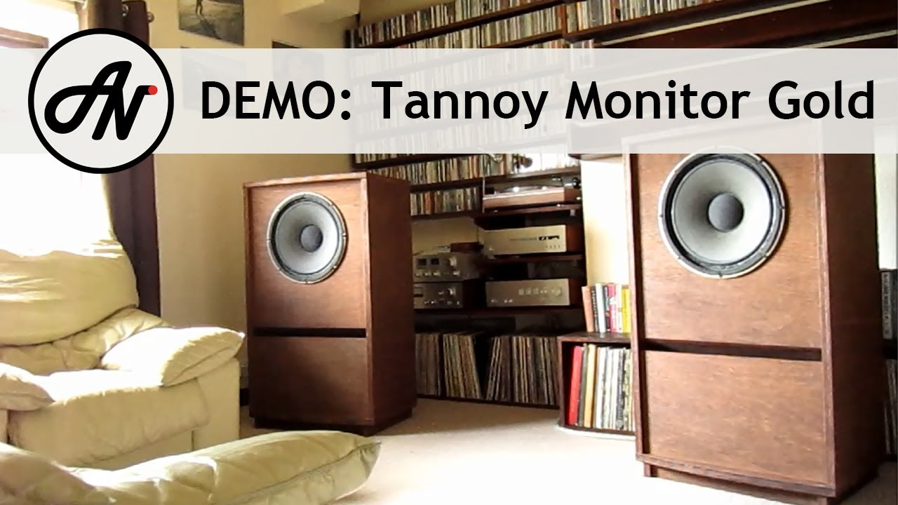 Tannoy Monitor Gold 15  1968 Vintage Dual Concentric