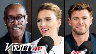 Avengers Cast Plays 'How Well Do You Know Your Co-Stars?'