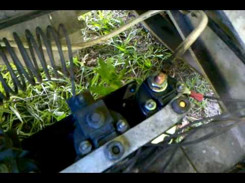 1987 club car 36 volt wiring diagram 2003 lancer evolution solenoid problem just clicking still golf cart - youtube