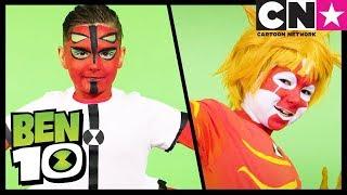 Ben 10 | Full Four Arms & Heatblast Costume Cosplay | Cartoon Network