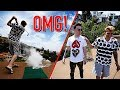 EXPLODING GOLF BALL PRANK!