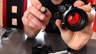 Kolimatory: Hawke Sport 1x30, Tasco Red Dot 1 x 30mm