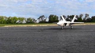 Freewing, F-22 Raptor, 64mm edf Jet ( Maiden Flight )