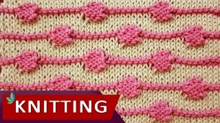 TWO COLOR KNITTING - String of Purls