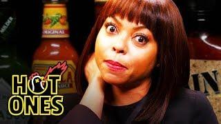 Taraji P. Henson Needs a Stunt Double to Eat Spicy Wings | Hot Ones