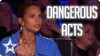 MOST DANGEROUS ACTS | Britain's Got Talent 2018