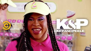 Watch The Perks of Working at a Froyo Shop - Key & Peele Video