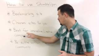 How to use StumbleUpon to help drive traffic to your website
