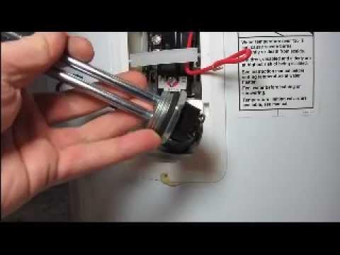 2005 Caravan Wiring Diagram Water Heater Element Installation Ez Youtube