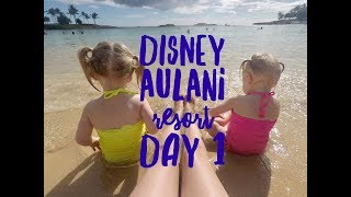 FIRST FULL DAY EXPLORING AULANI! WE EVEN FIND MICKEY MOUSE!
