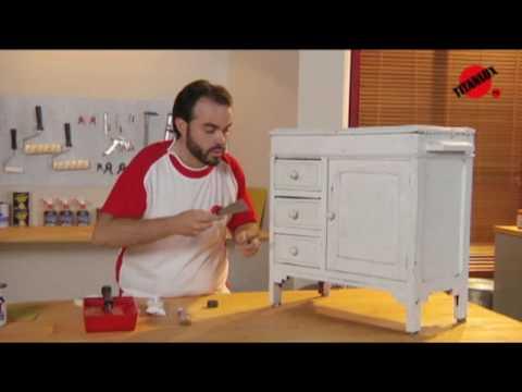 Cmo restaurar un mueble  YouTube
