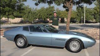 The Original Maserati Ghibli Proves Maserati Was Once Great
