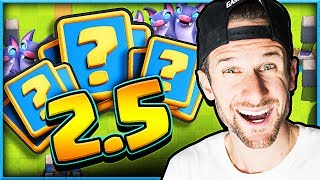 WOW!! 2.5 UNDEFEATED Deck! • Clash Royale Cycle!